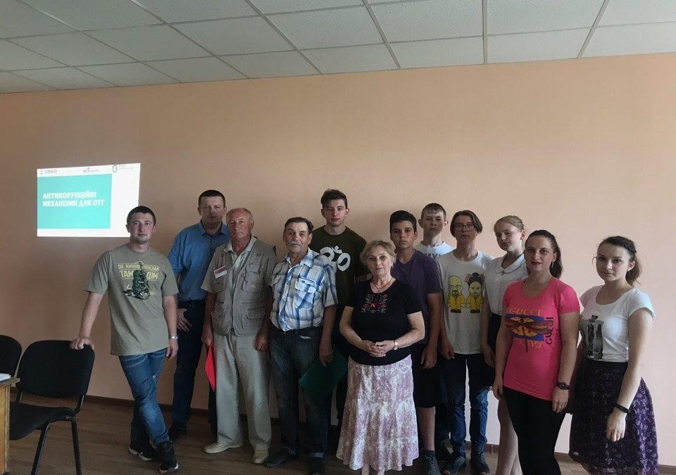 В Малиновке бывают не только свадьбы, там еще и мегаактивные жители