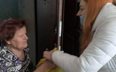 Цього разу відвідали мешканців Введенки Чугуївського району Харківської області