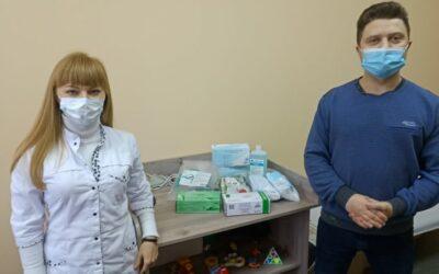 Продовжуємо передавати засоби індивідуального захисту медикам