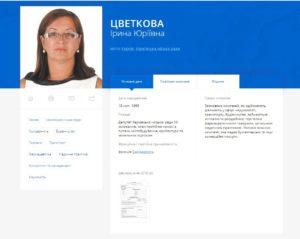 Як депутат Харківської міської ради для своєї фірми отримала земельну ділянку комунальної власності і забула повідомити про конфлікт інтересів